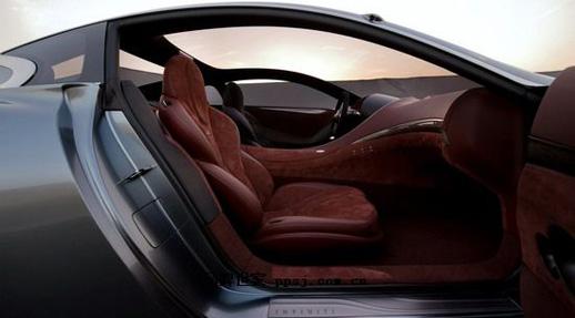 英菲尼迪20周年跑车essence lv设计抽象内饰 高清图片